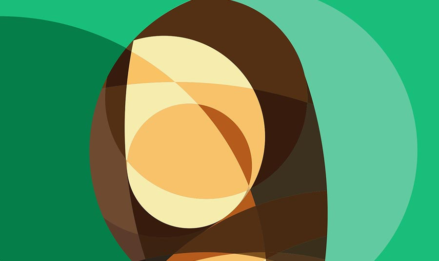 cover del progetto GioconFlat: la Gioconda in stile flat