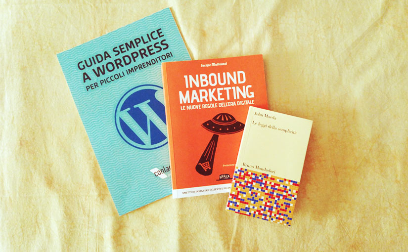 3 libri per l'estate su web e WordPress